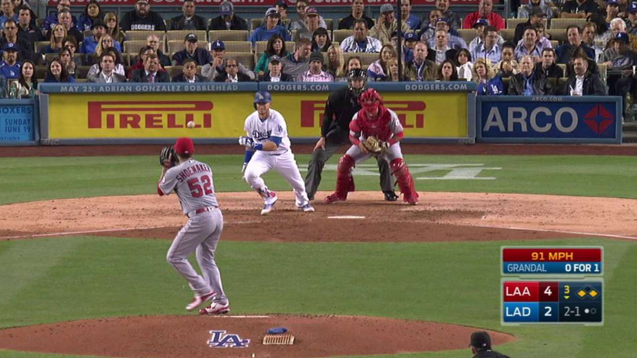 Shoemaker induces double play