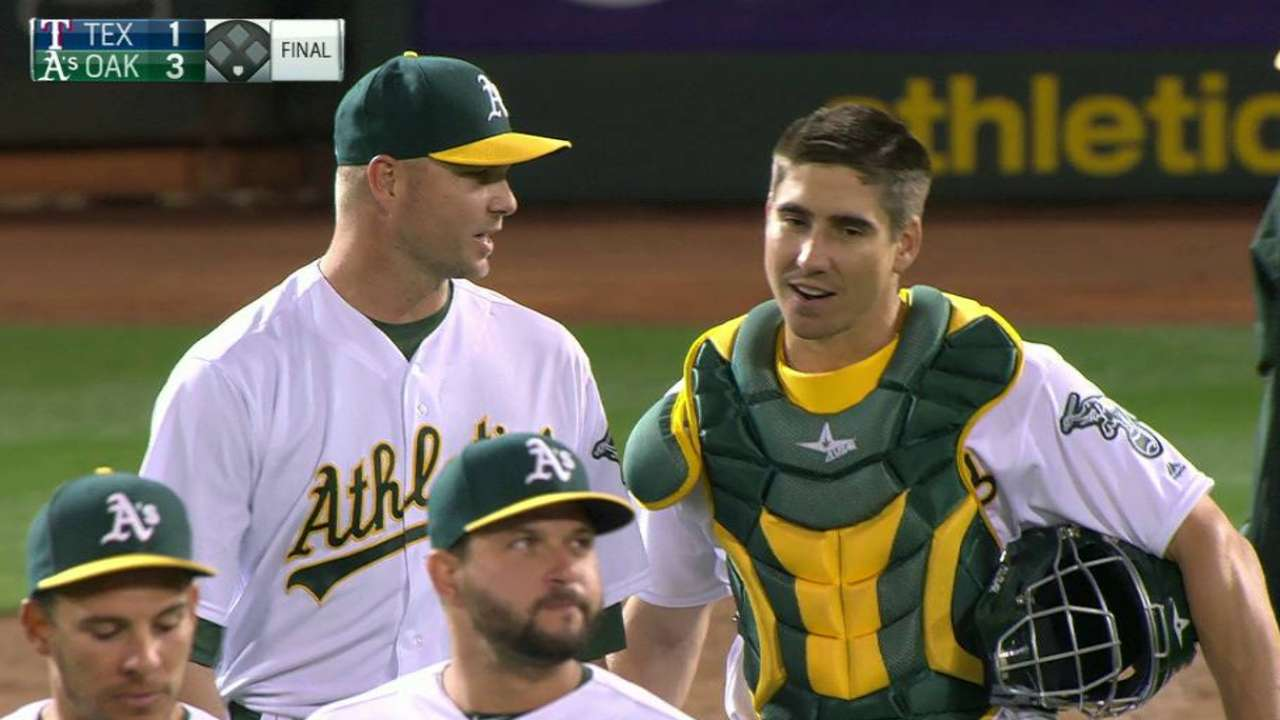 After down year, A's bullpen again formidable