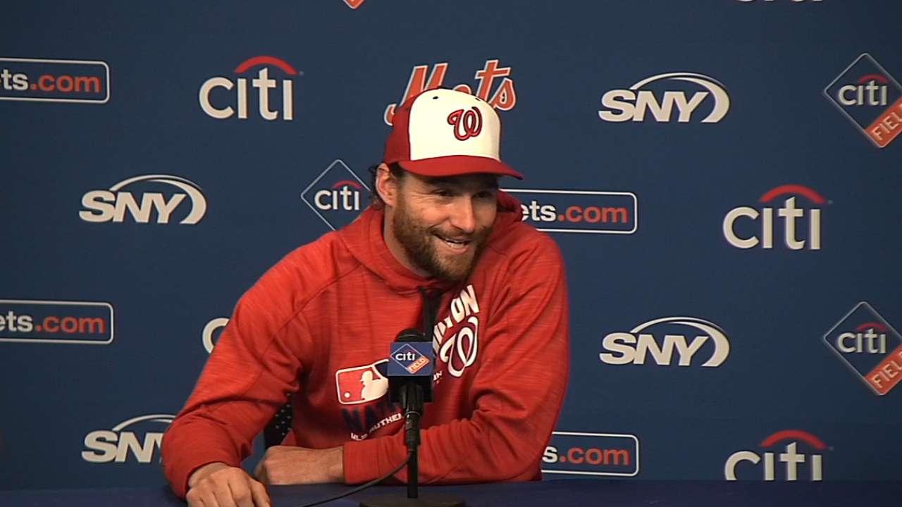 Murphy on his Mets memories