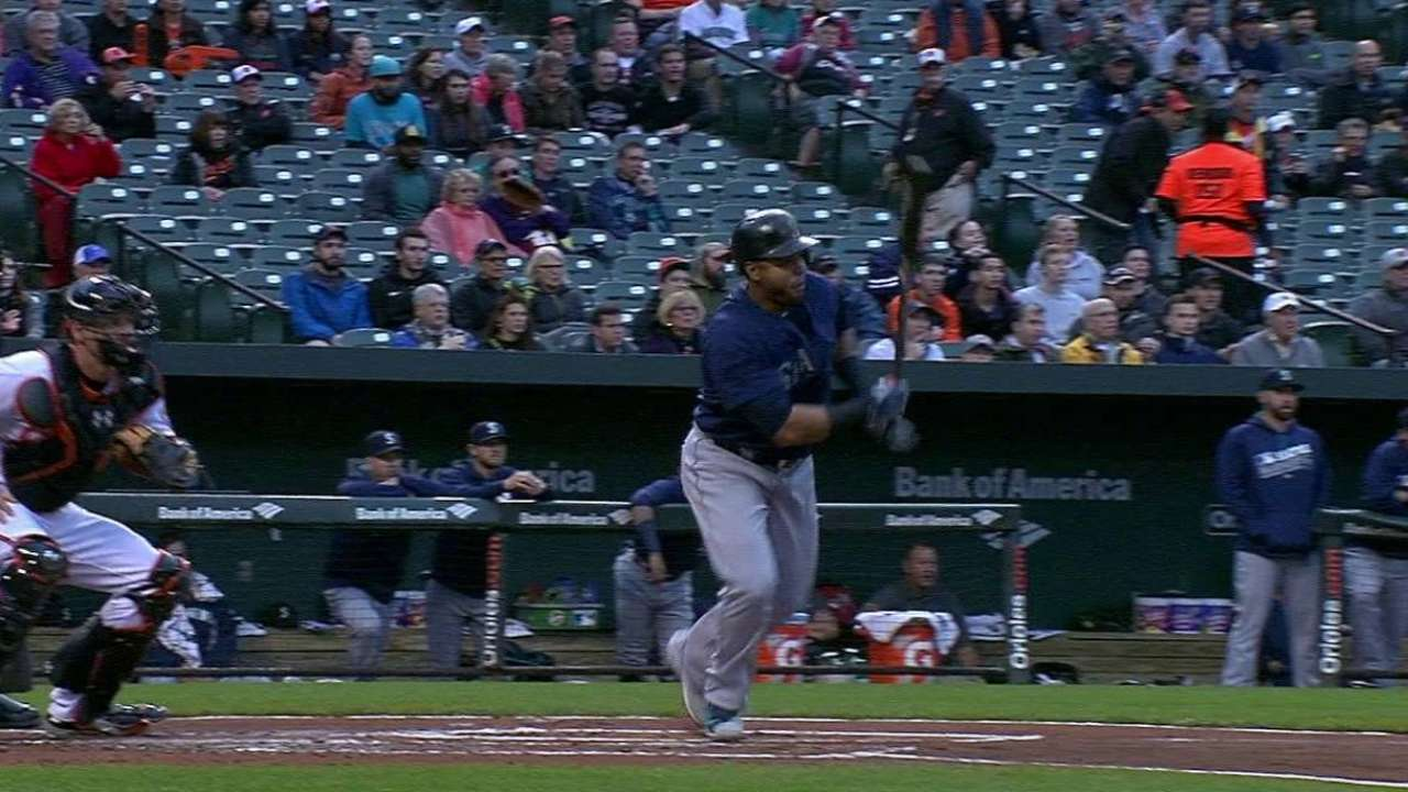 Mariners-Orioles clash leads MLB.TV slate