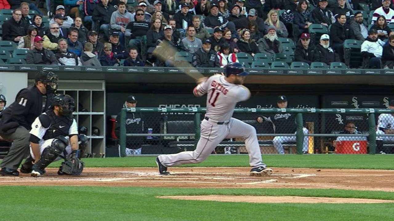 Gattis' single to center field