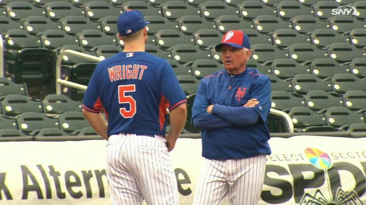 Wright, Collins talk pregame