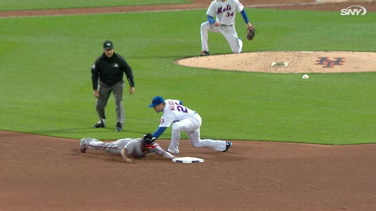 Plawecki throws out Revere