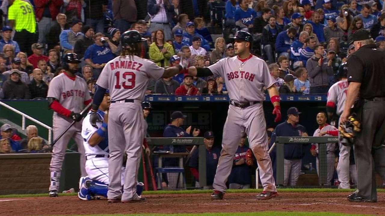 Shaw's three-run homer
