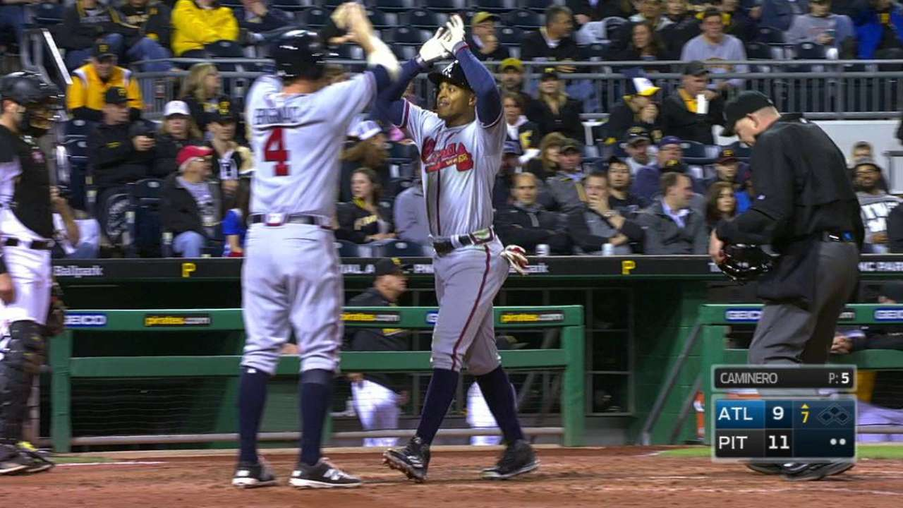 Smith's second homer of the game