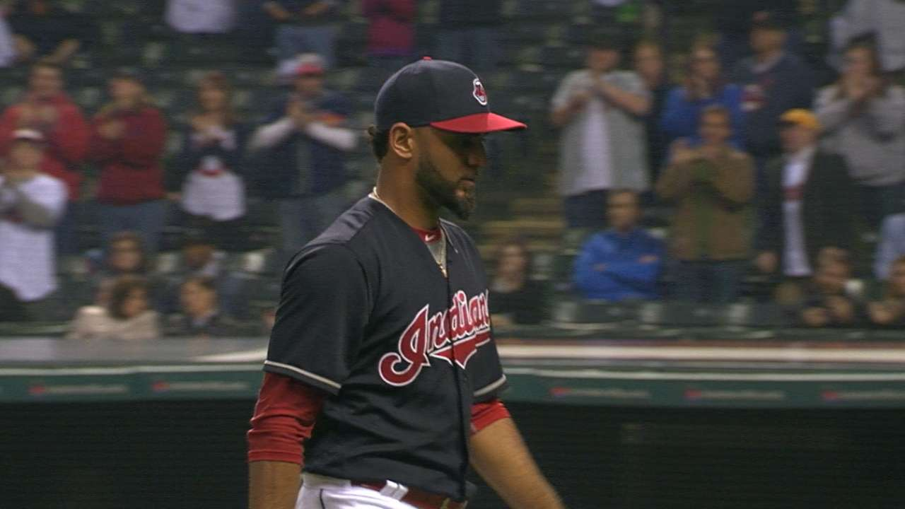 Salazar's hard work paying off in strides for Tribe