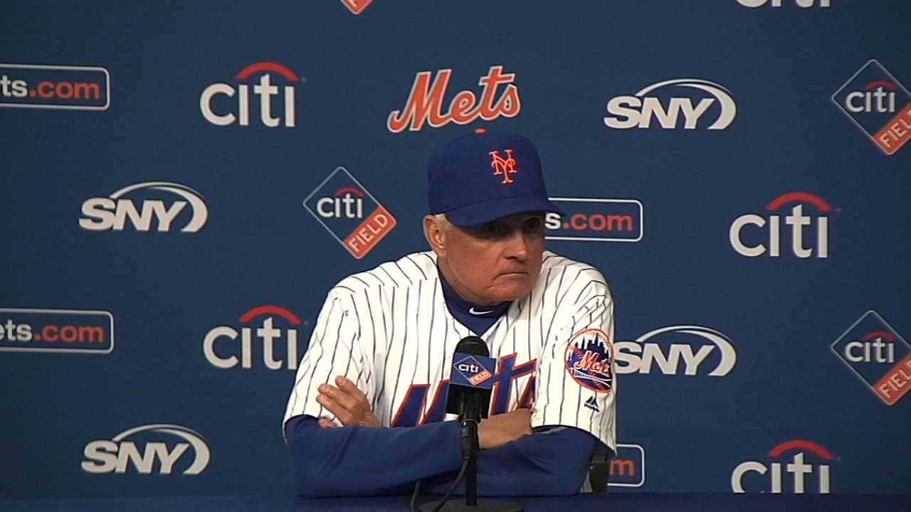 Terry Collins on Mets' 2-0 win