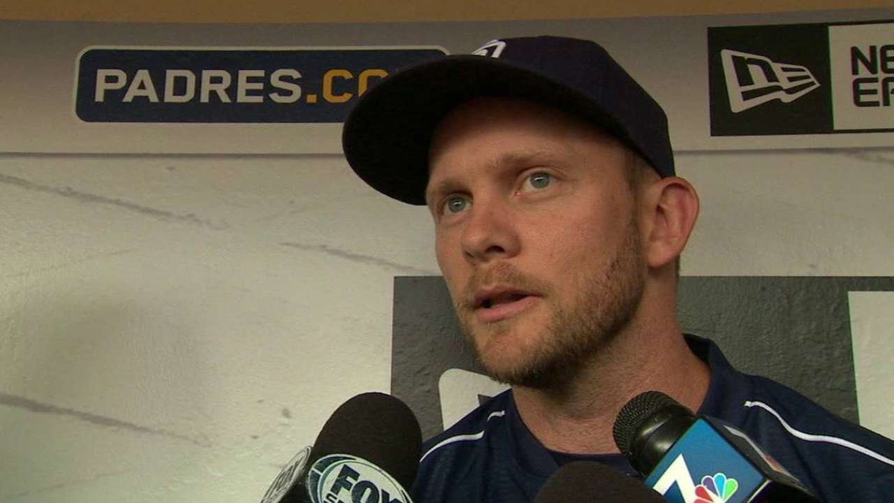 Forearm better, Myers returns to lineup