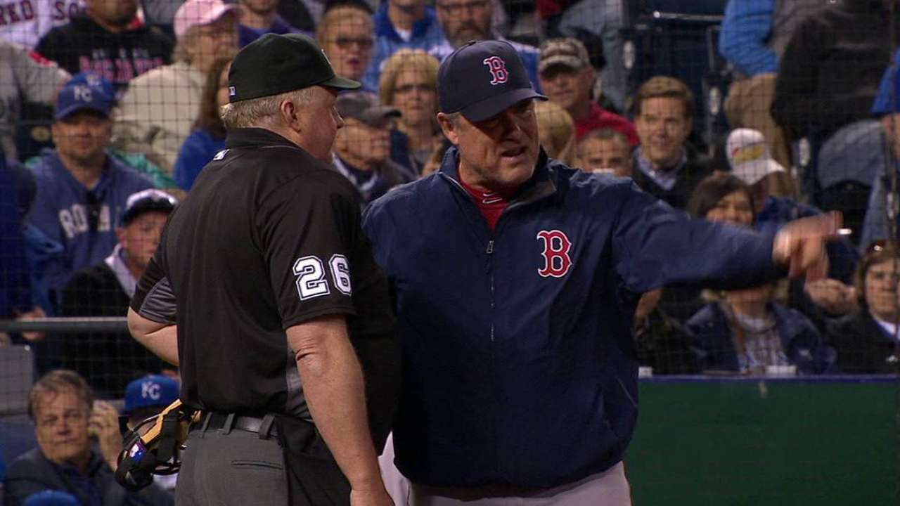 Farrell's ejection