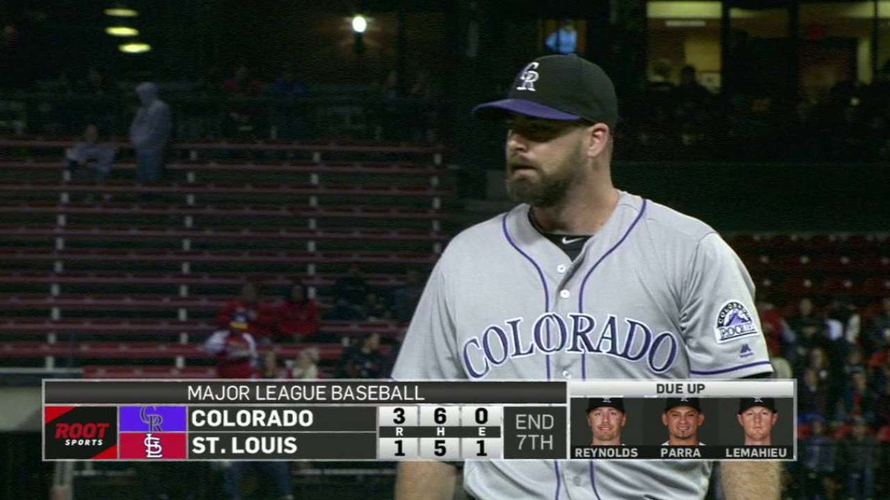Rockies activate Logan from DL, option Castro
