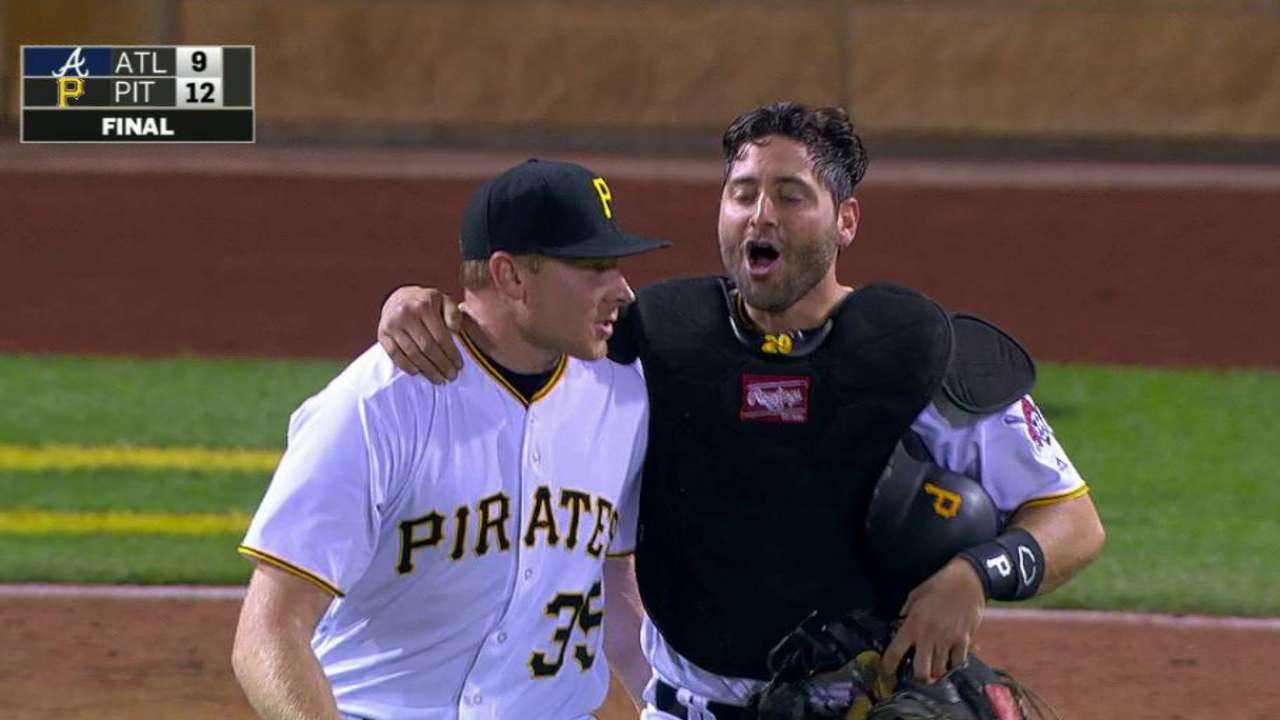 Melancon ever-ready for save situations