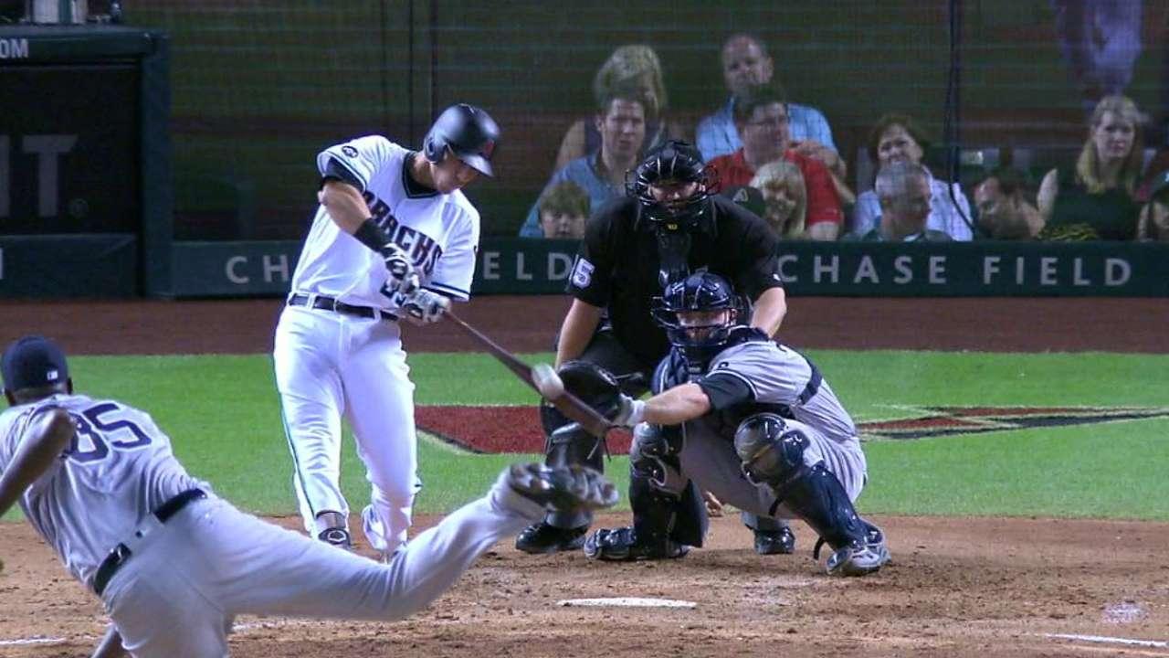 Lamb's two-run home run