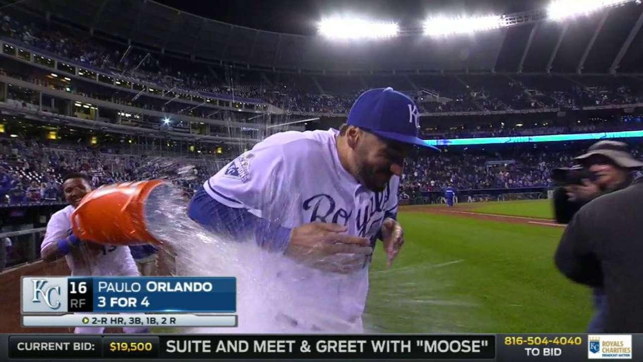 Hot bat gives Orlando shot at everyday job