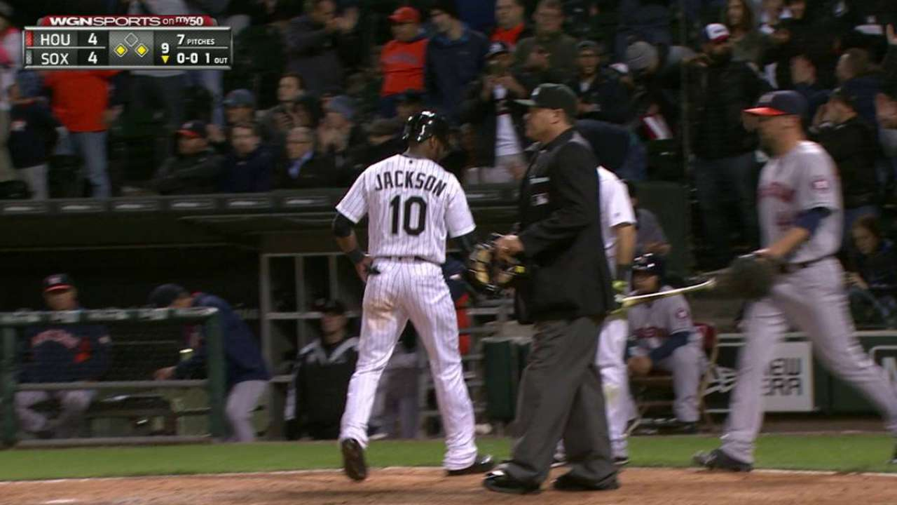 Saladino ties game in the 9th