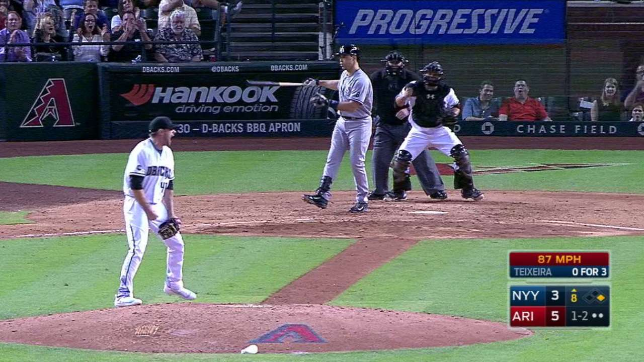 Hudson's strikeout ends trouble