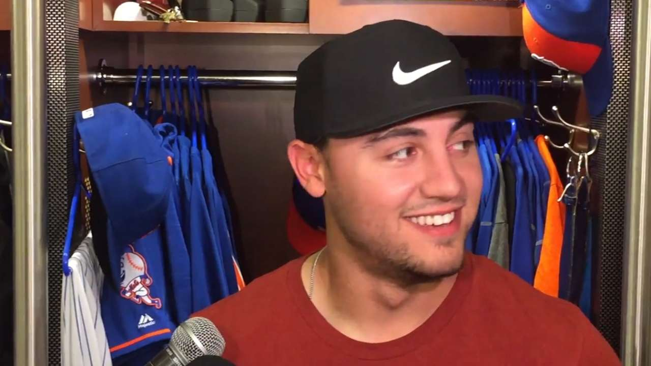 Mets on defeating the Nationals
