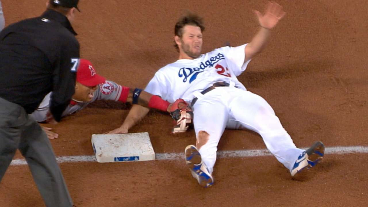 Must C: Trout cuts down Kershaw