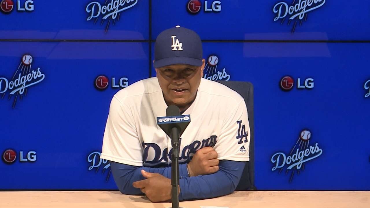 Roberts on Dodgers' 5-1 win