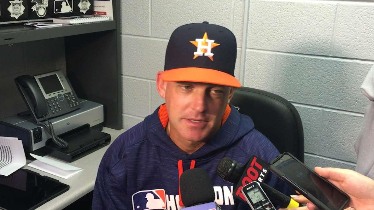 Hinch on Astros' 6-5 win