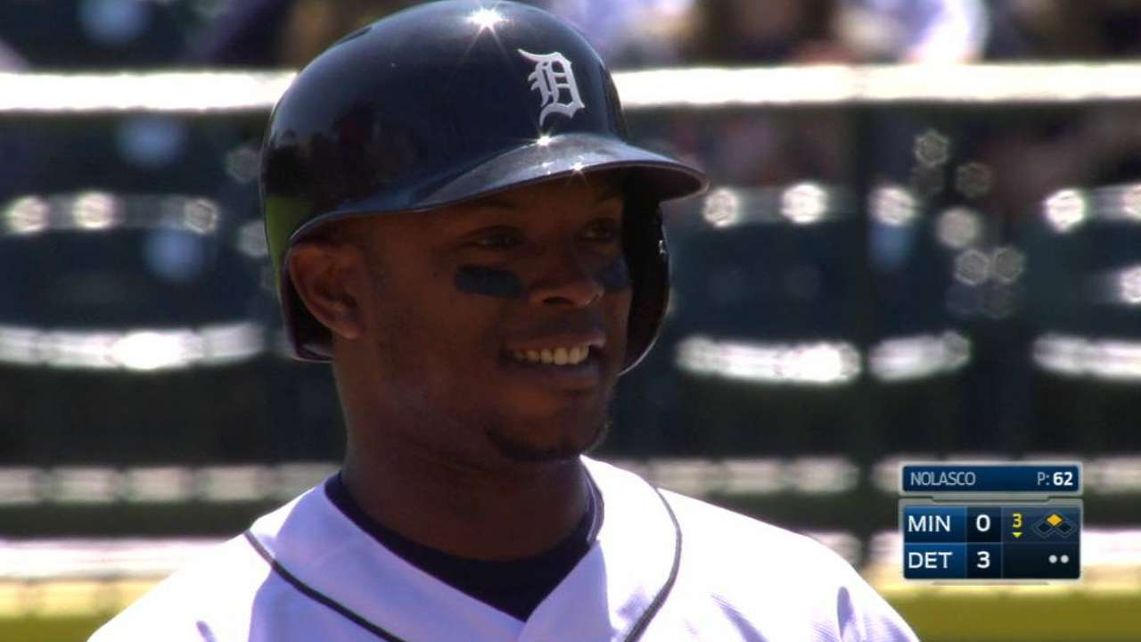 Tigers see signs of Upton heating up