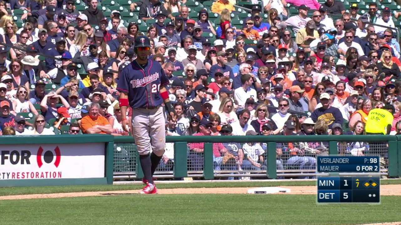 Twins plagued by errors, mental mistakes