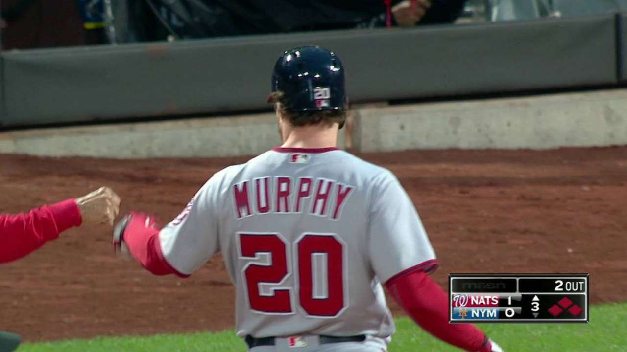 Murph plates Werth in the 3rd