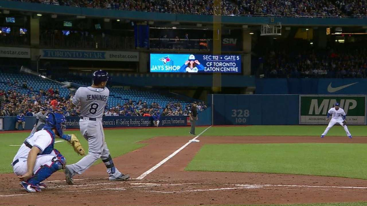 No slowing bats as Rays cap Toronto sweep