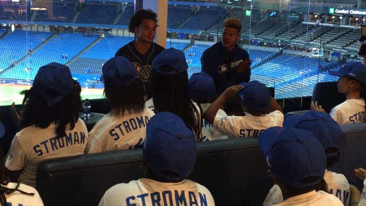 Archer, Stroman teach right lessons in RBI visit