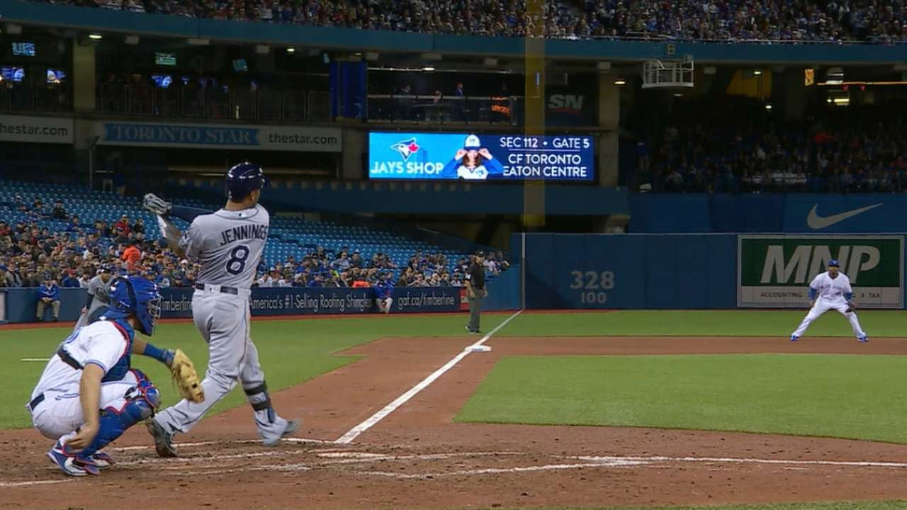 With MLB-best homer total, Rays 'taking off'