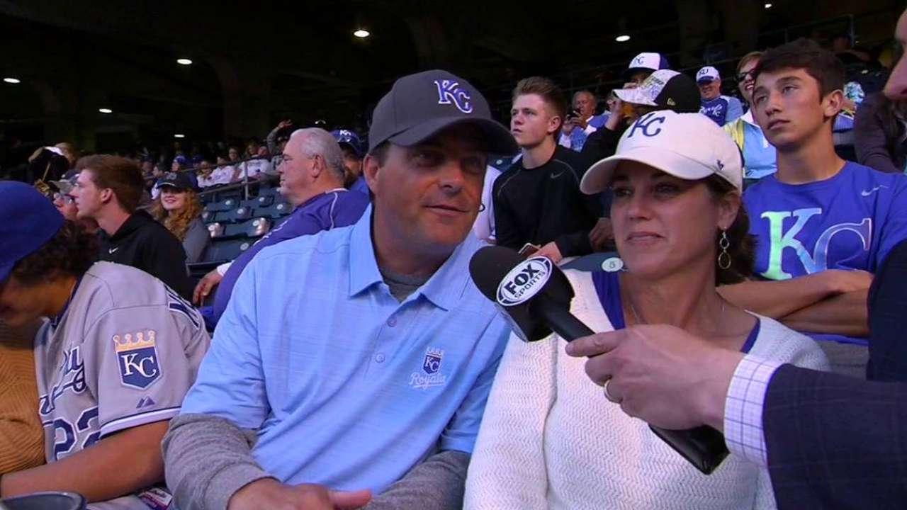Merrifield's parents interviewed