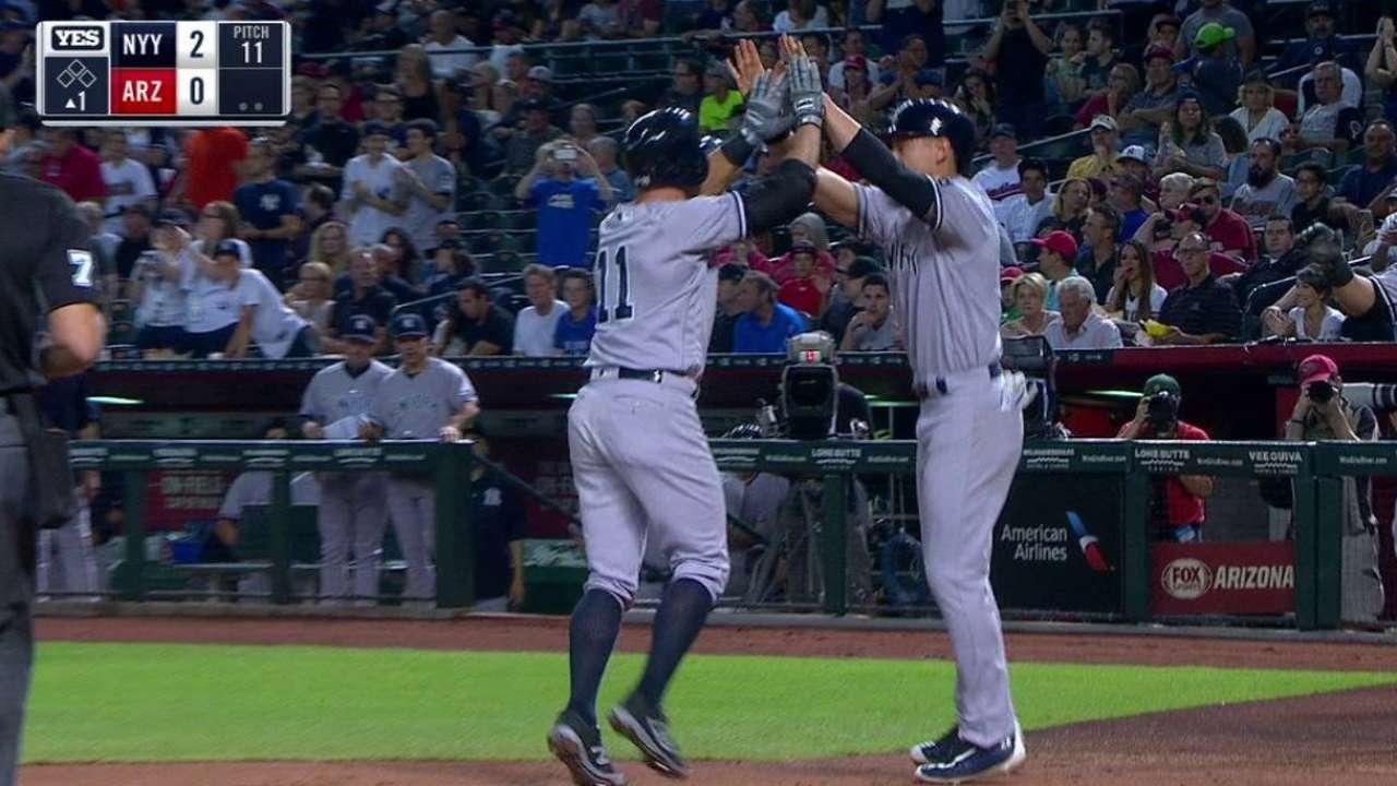 Gardner's two-run homer