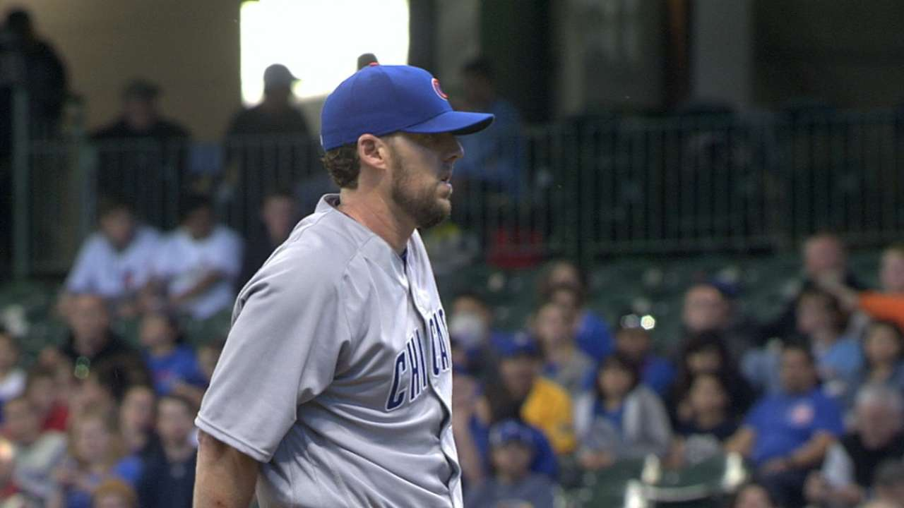 Lackey throws six solid innings