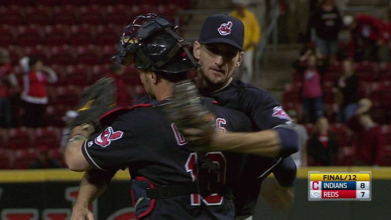 Otero gives Tribe reliable arm in bullpen