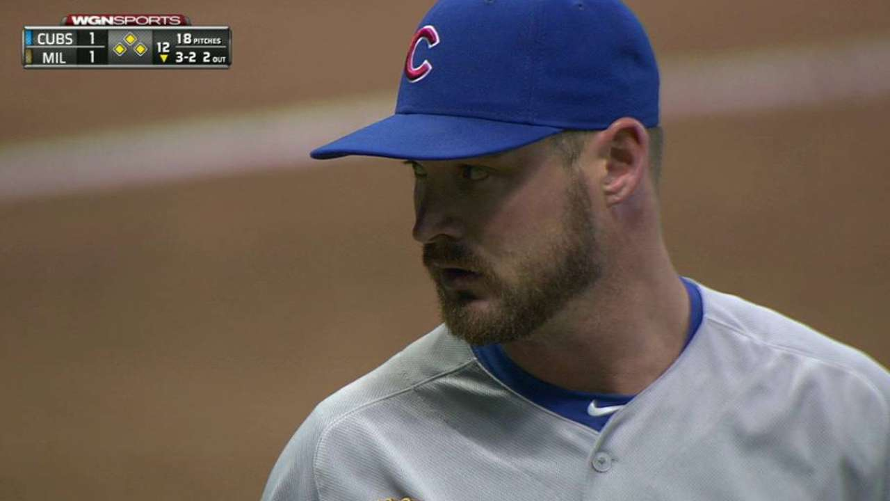 Cubs prevail in 13 as Wood waits out Brewers