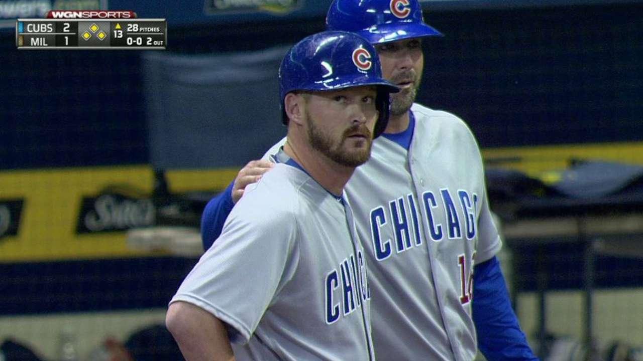 Cubs se llevan duelo ante Cerveceros en la 13ra