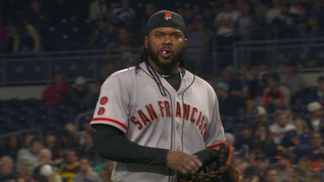 Cueto works out of 7th inning