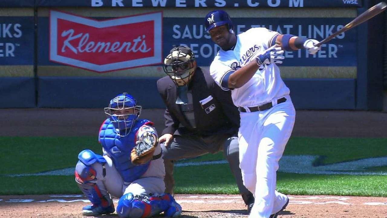 Carter's towering solo home run