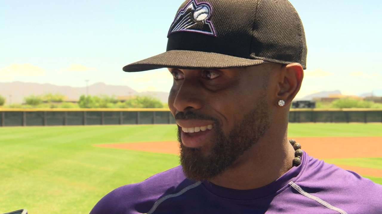 Contrite Reyes looks ahead during workout
