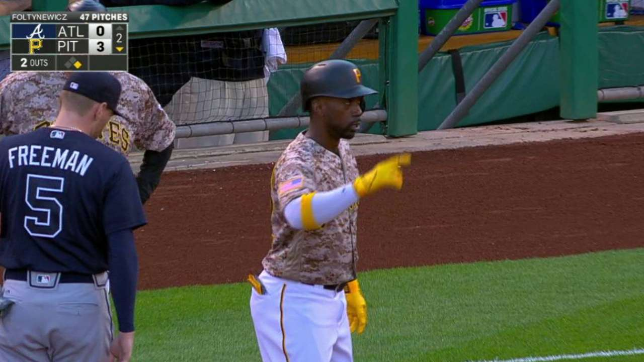 Cutch thriving in CF, No. 2 hole in Bucs lineup