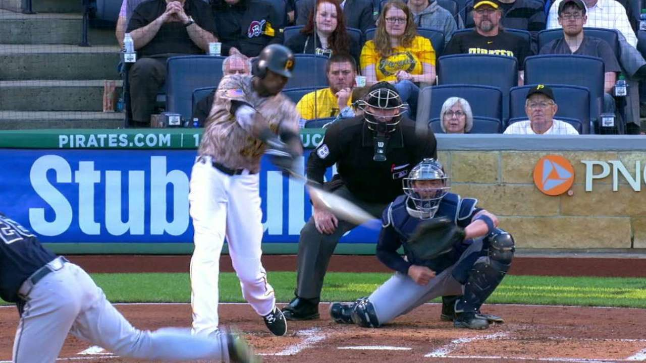 Polanco's two-run homer
