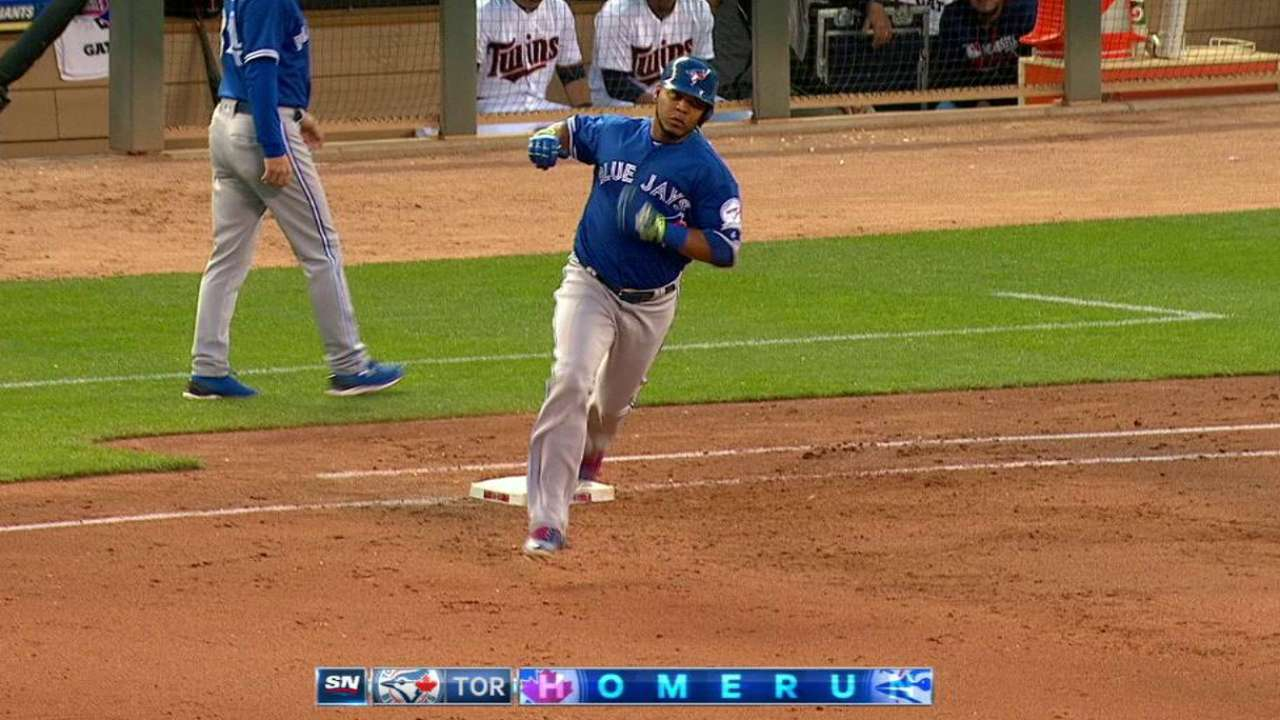 Encarnacion's two-run homer