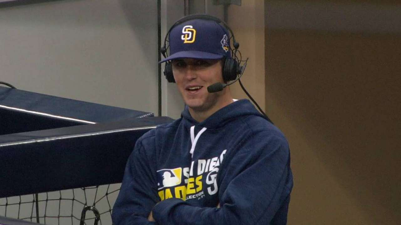 Rejuvenated Pomeranz at home with Padres