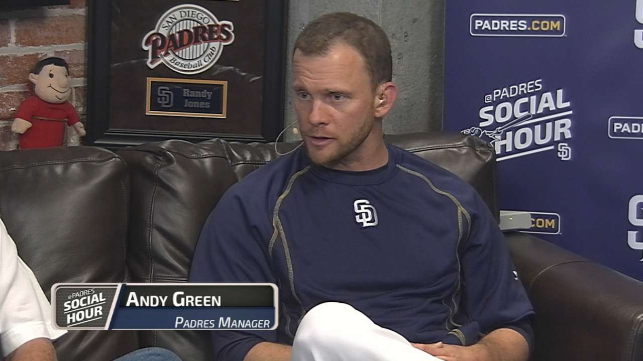 Padres Social Hour: Andy Green