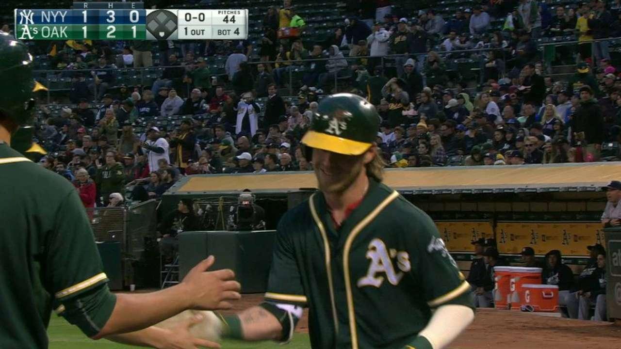 Reddick's solo home run