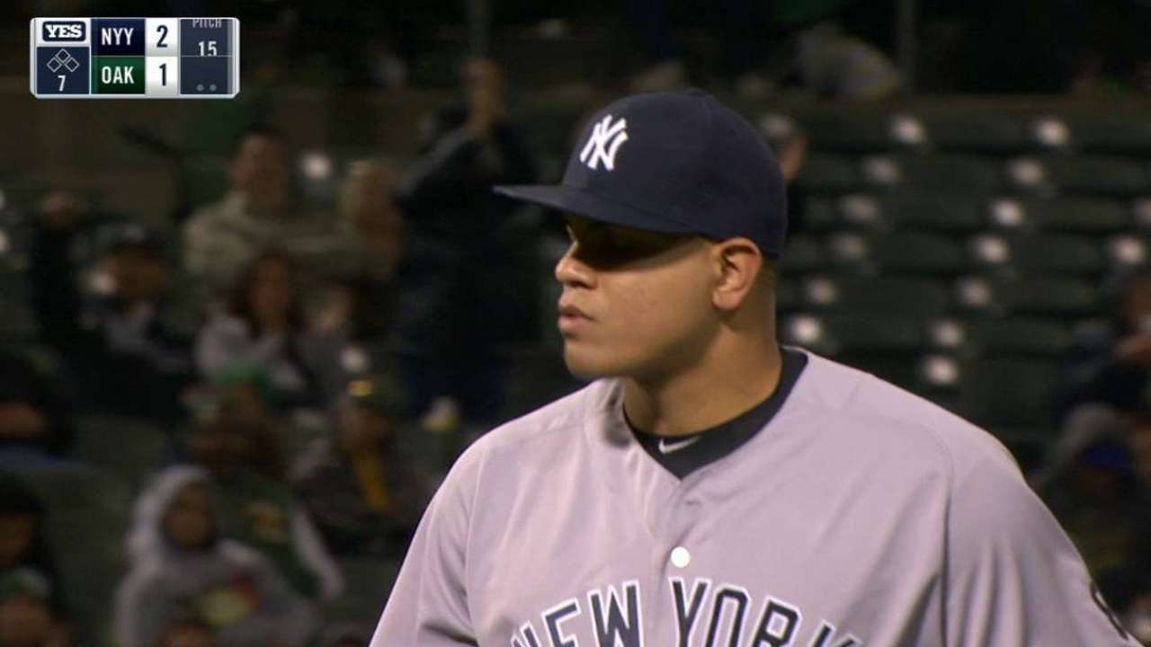 Betances ends the 7th