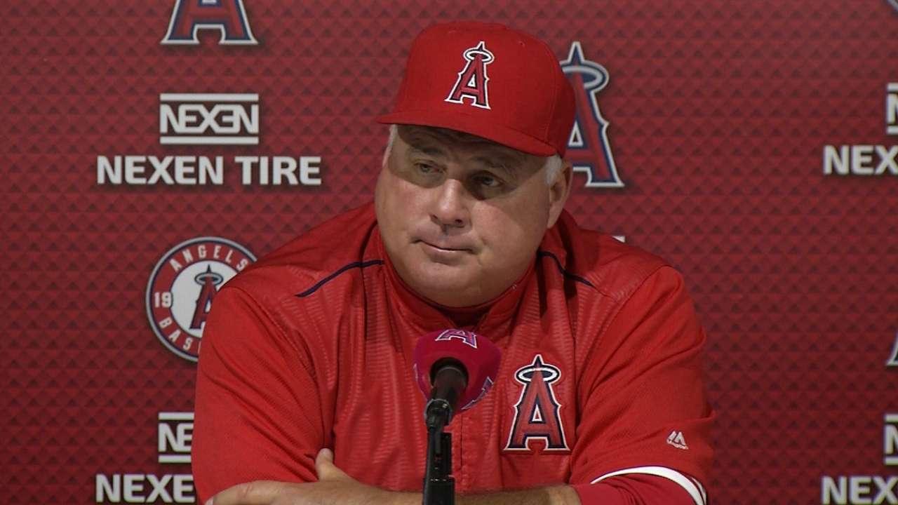 Trout, bullpen power Angels past Dodgers