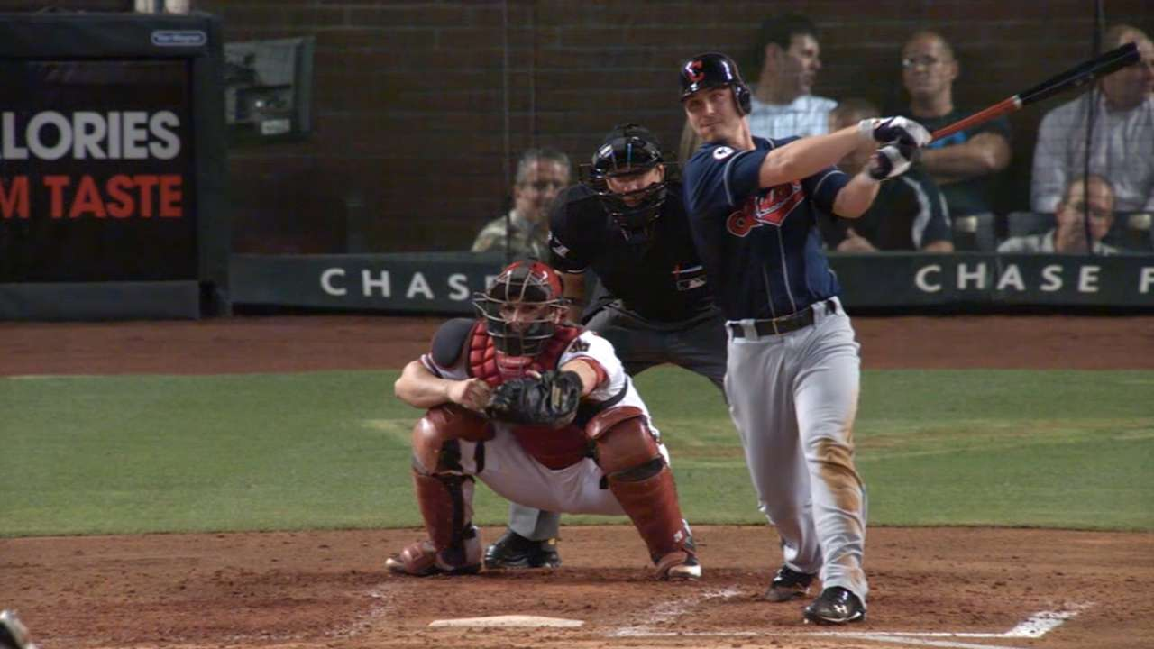 Tomlin showcases hitting prowess, athleticism