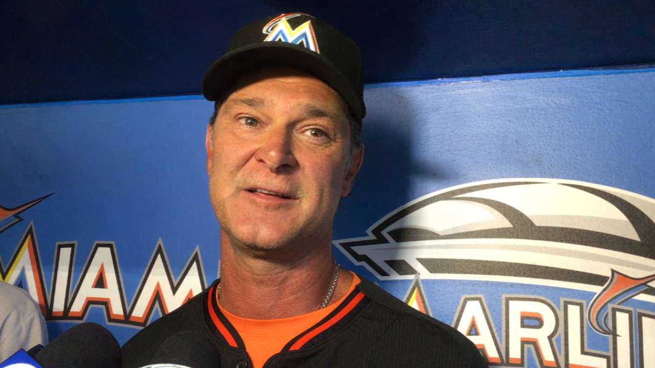 Mattingly, Bonds working closely with Giancarlo