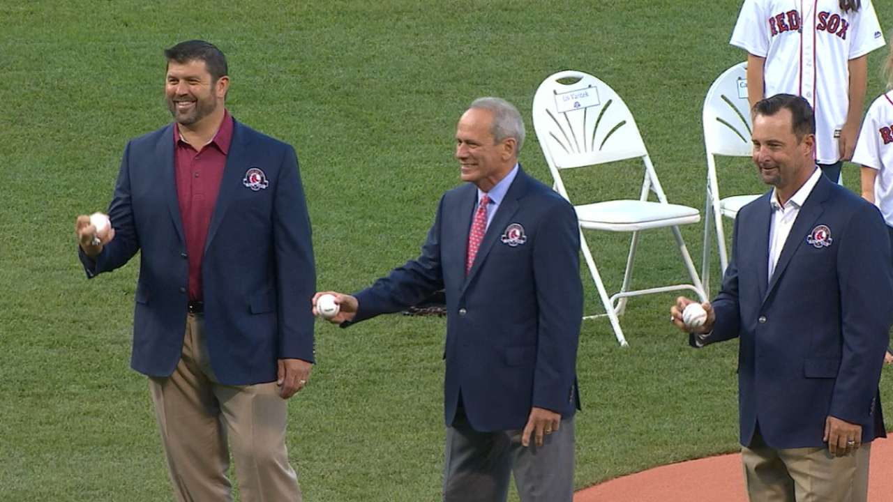 2016 Red Sox Hall of Fame class