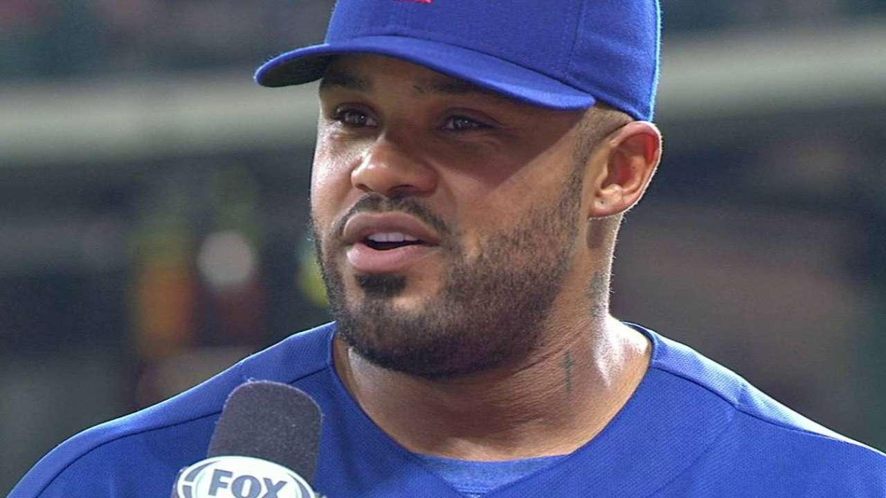 Fielder on the Rangers' win